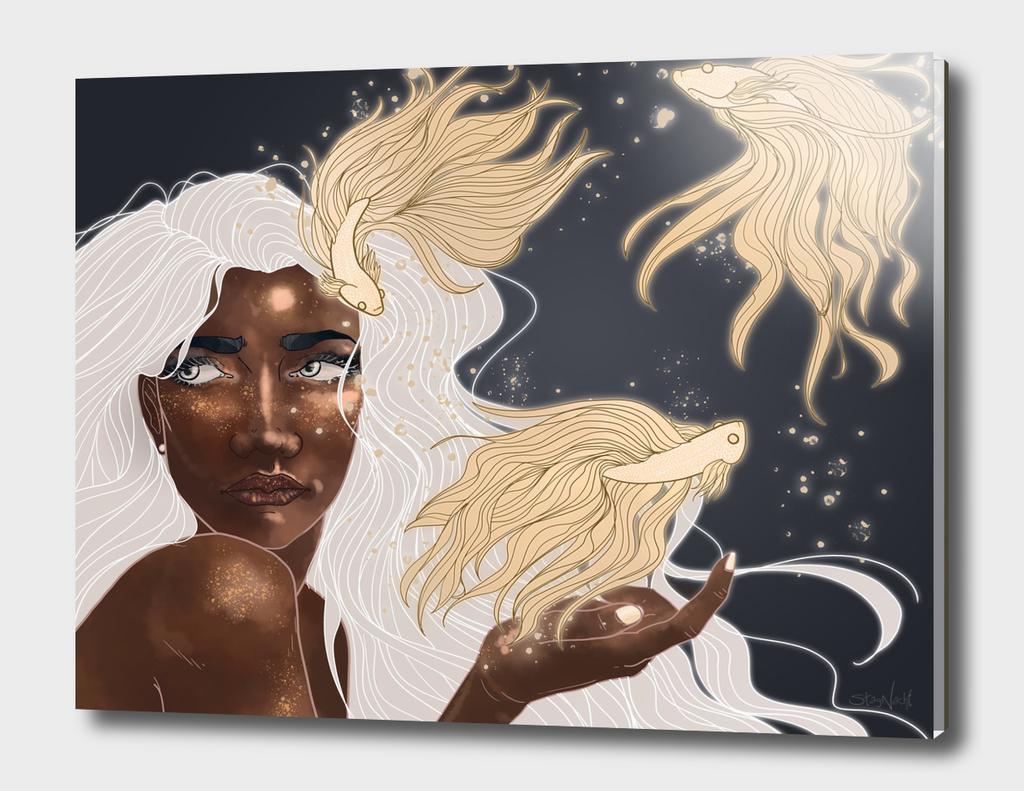 la femme magique
