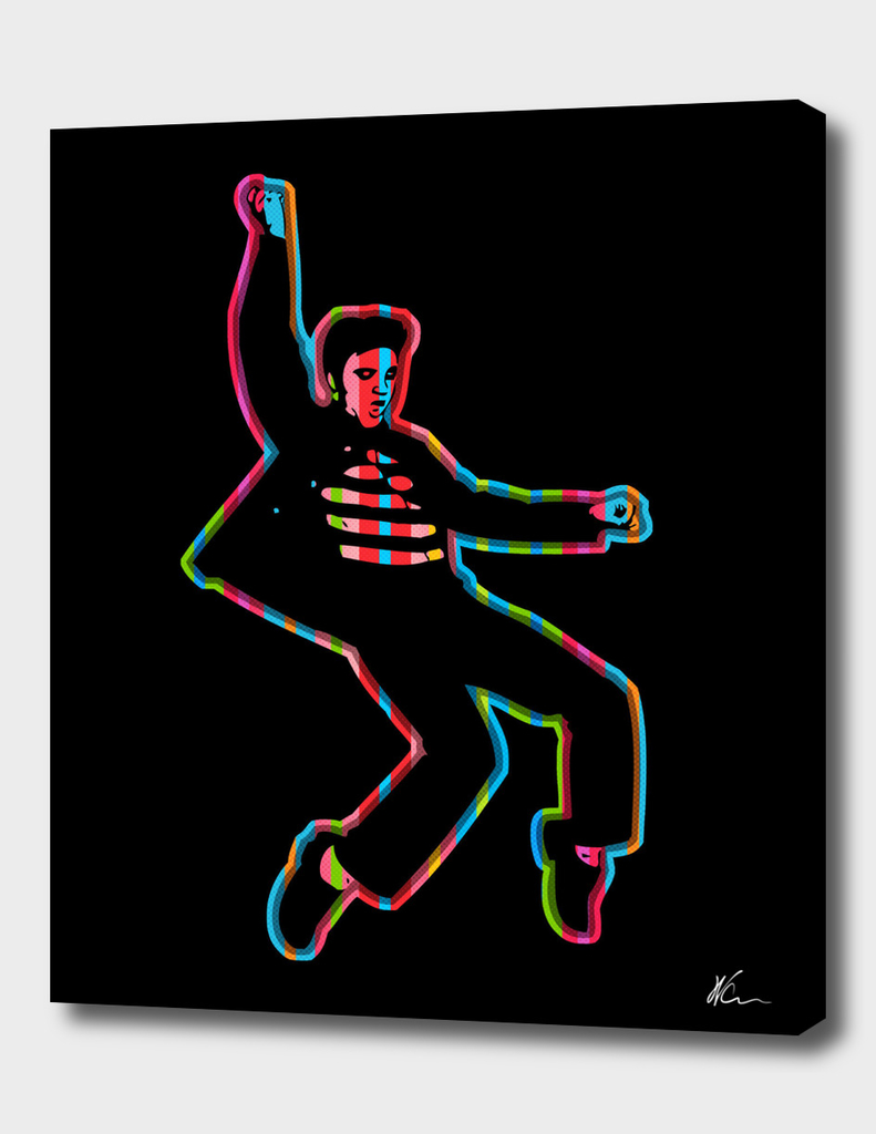 Elvis Presley | Dark | Pop Art