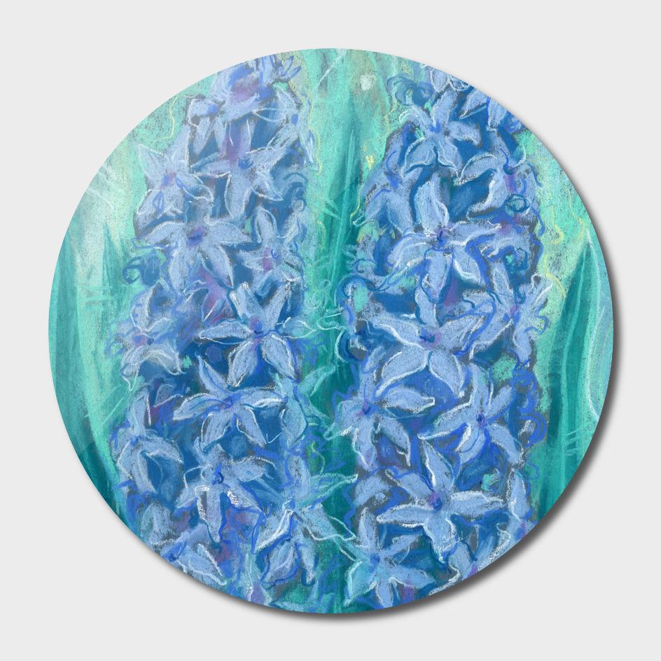 Hyacinths, Spring Flowers, Floral Art, Easter Gift