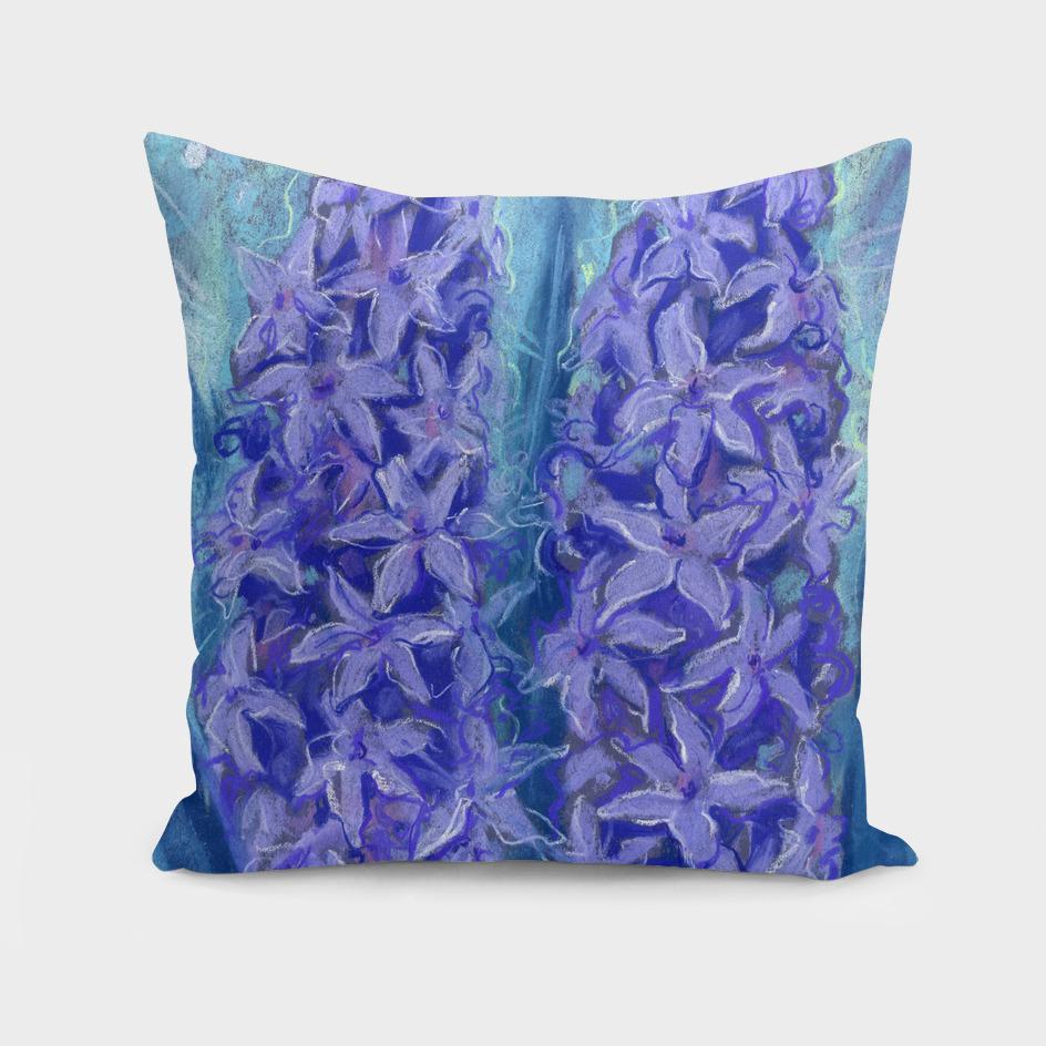 Hyacinths, violet version