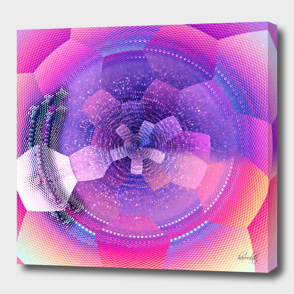 abstract pink art