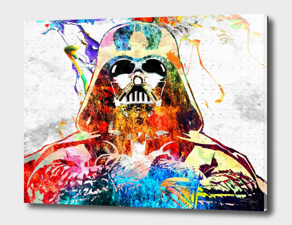 Darth Vader Star Wars Grunge