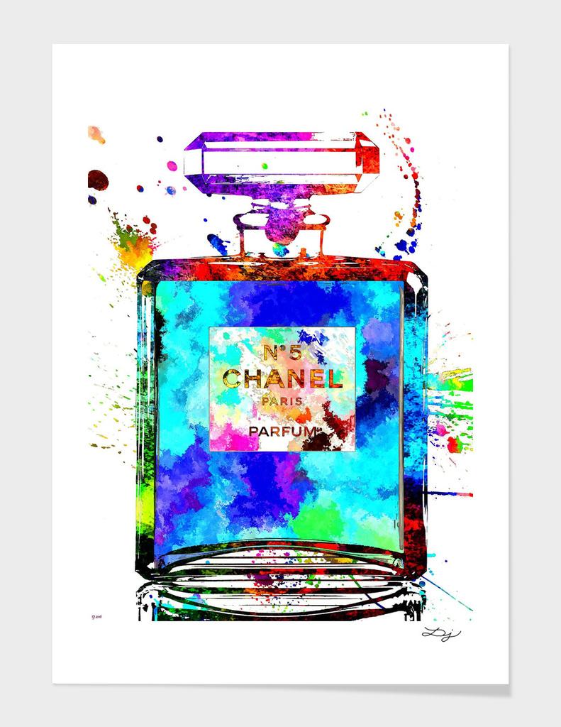 Chanel No 5 Grunge