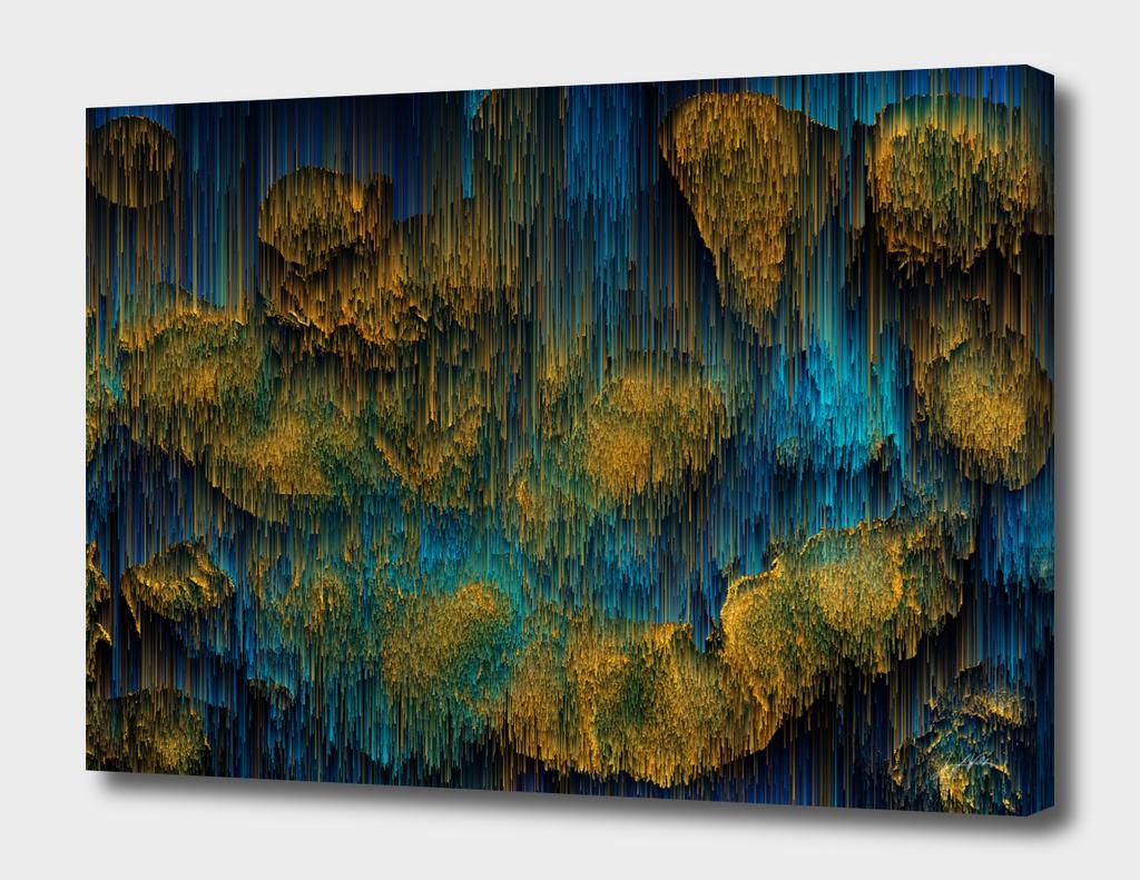 Molten - Abstract Pixel Art