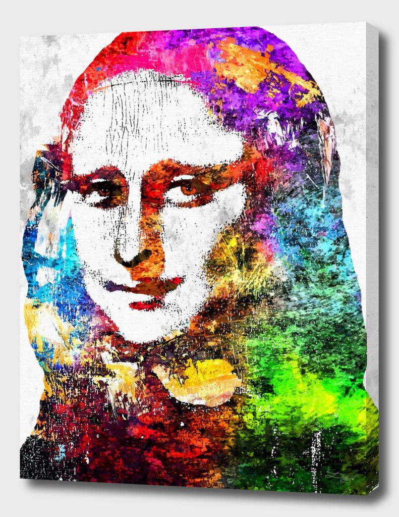 Mona Lisa Grunge