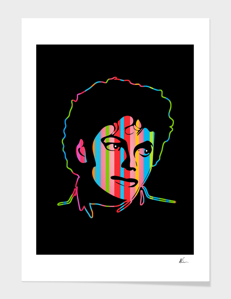 Michael Jackson | Dark | Pop Art
