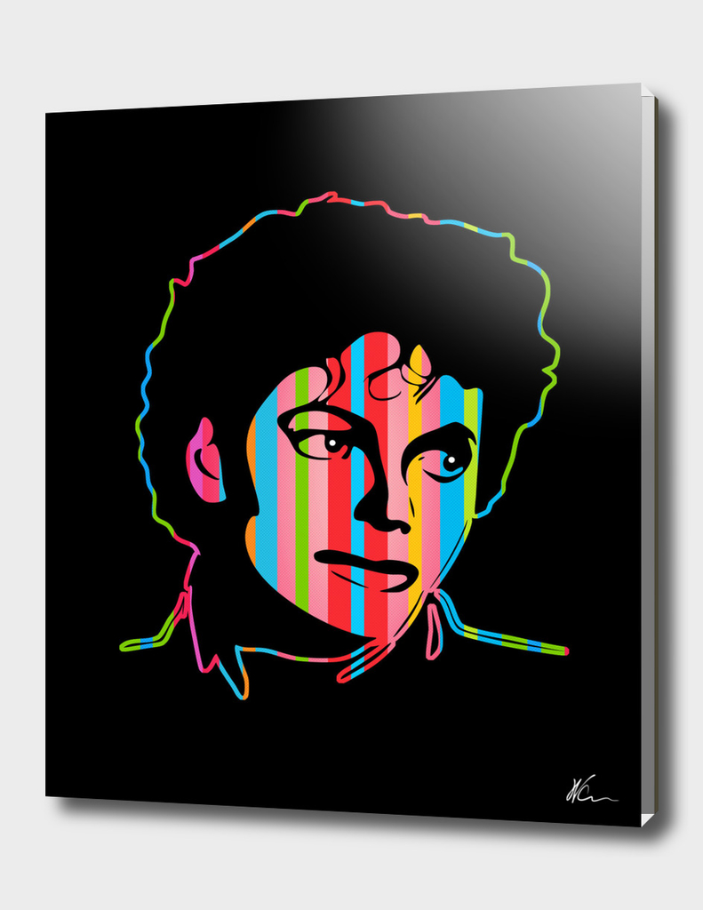 Michael Jackson | Dark | Pop Art