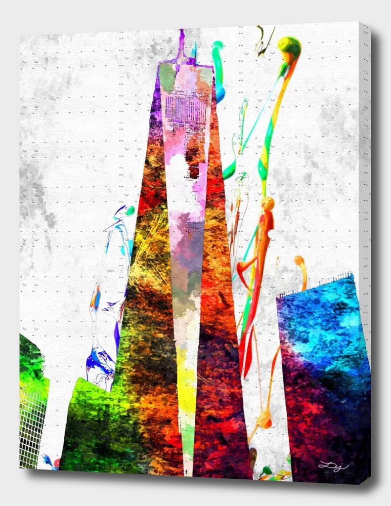 One World Trade Center Grunge