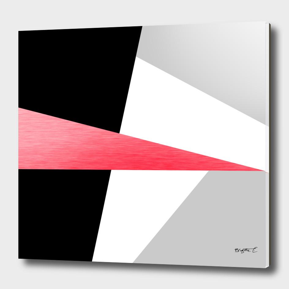 Bold Minimalist Geometric Pattern