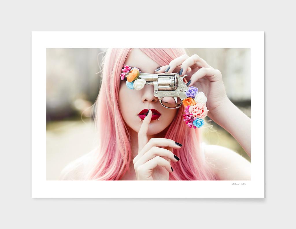 Flower gun