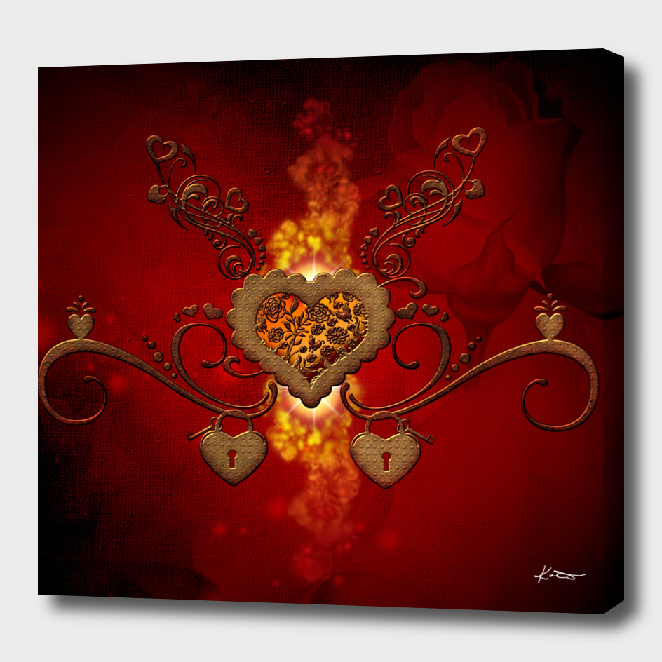Wonderful steampunk heart