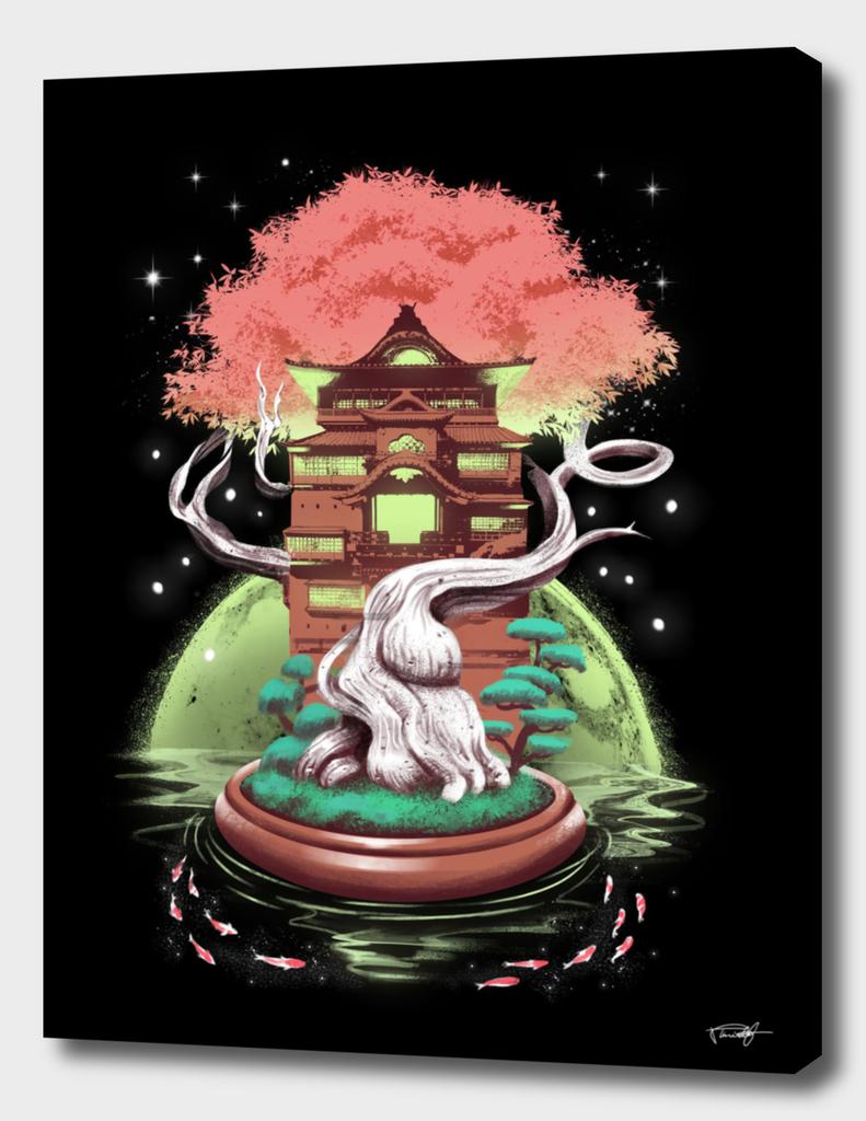 Cosmic Bonsai Tree