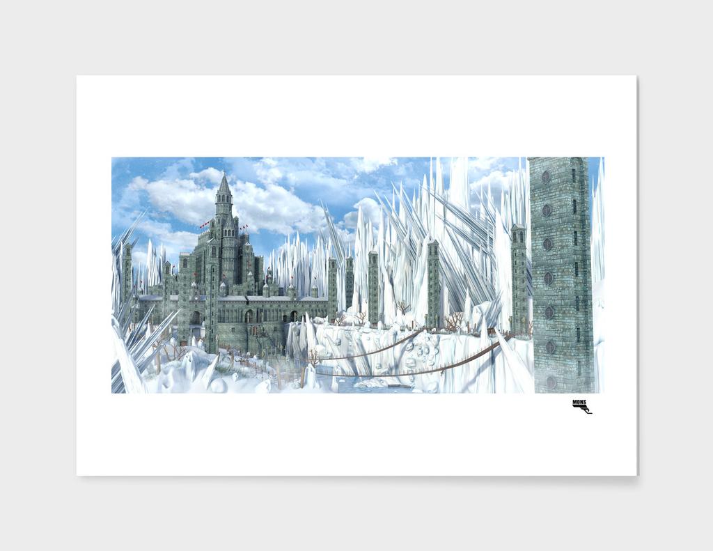 Fantasy Snow Castle