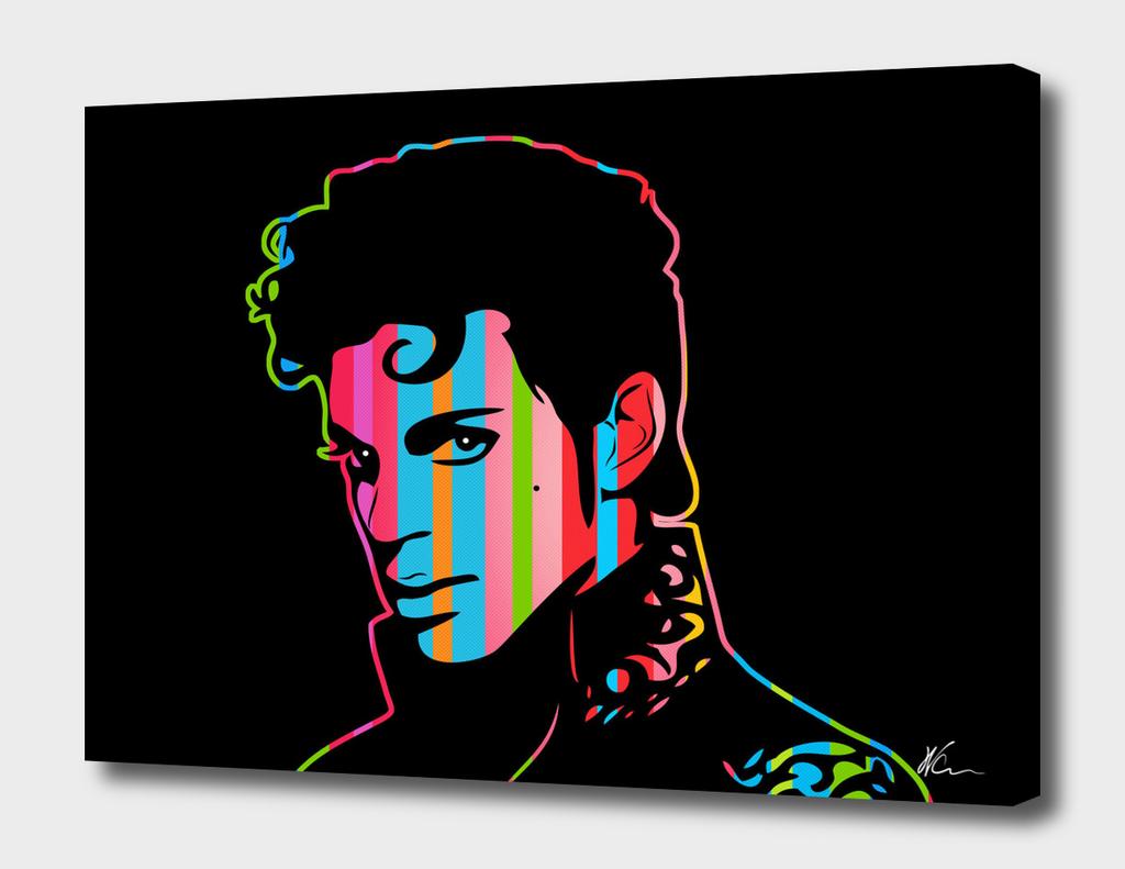 Prince   Dark   Pop Art