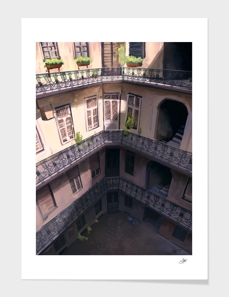 Budapest house