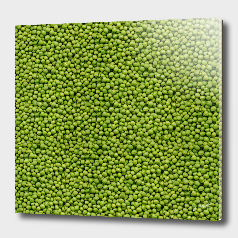 Green Peas Texture