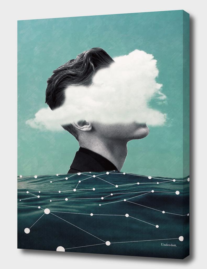 Behind the cloud ...