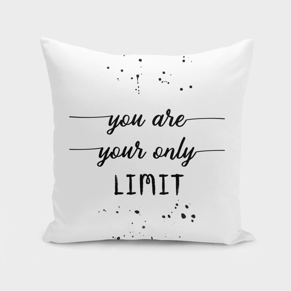 TEXT ART You are your only limit