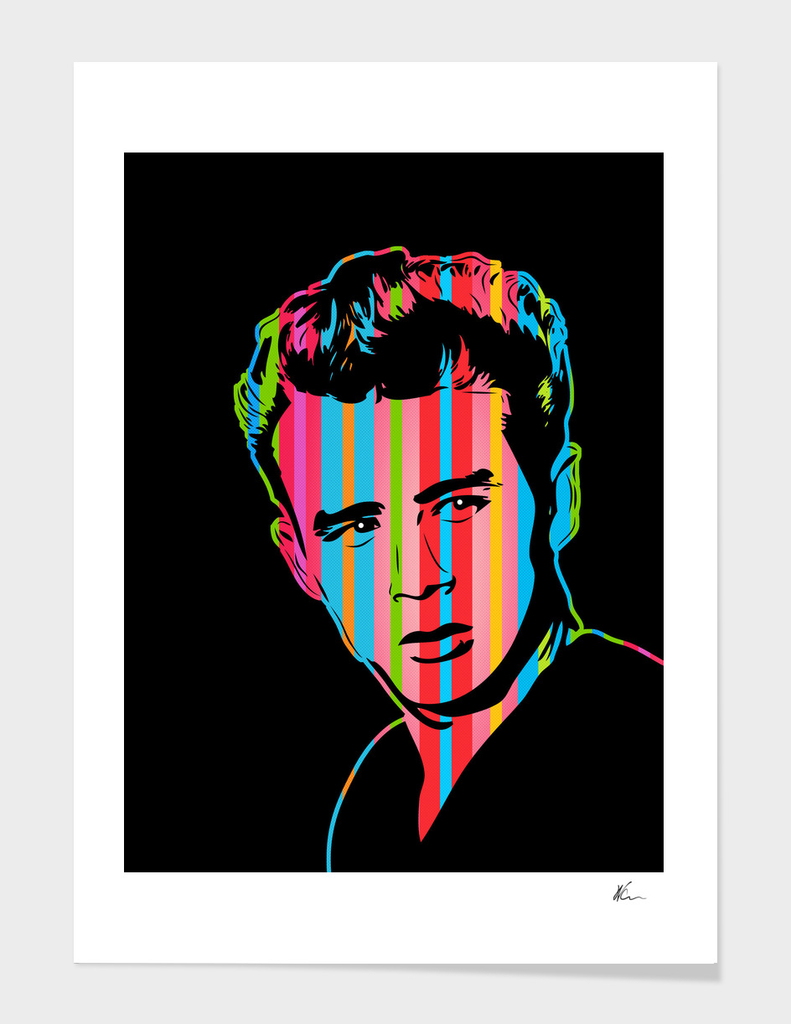 James Dean | Dark | Pop Art