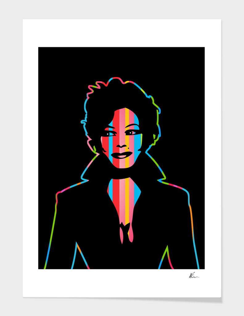 Janet Jackson | Dark | Pop Art