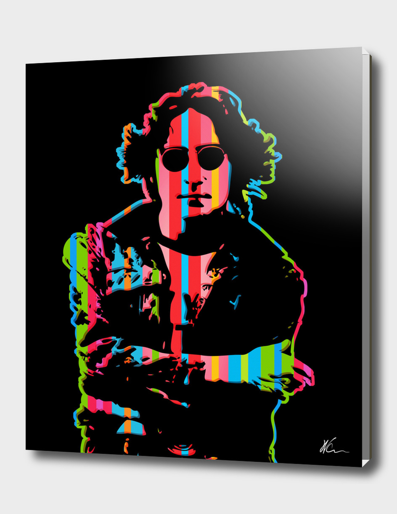John Lennon   Dark   Pop Art