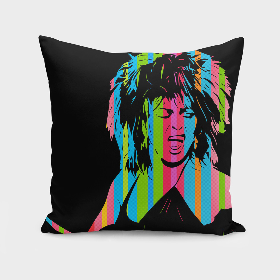 Tina Turner | Dark | Pop Art