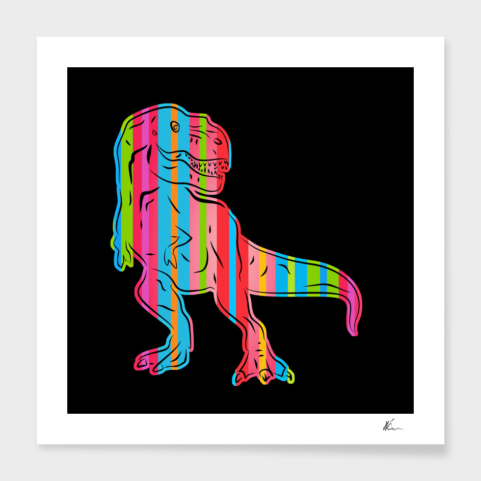 T-Rex | Dark | Pop Art