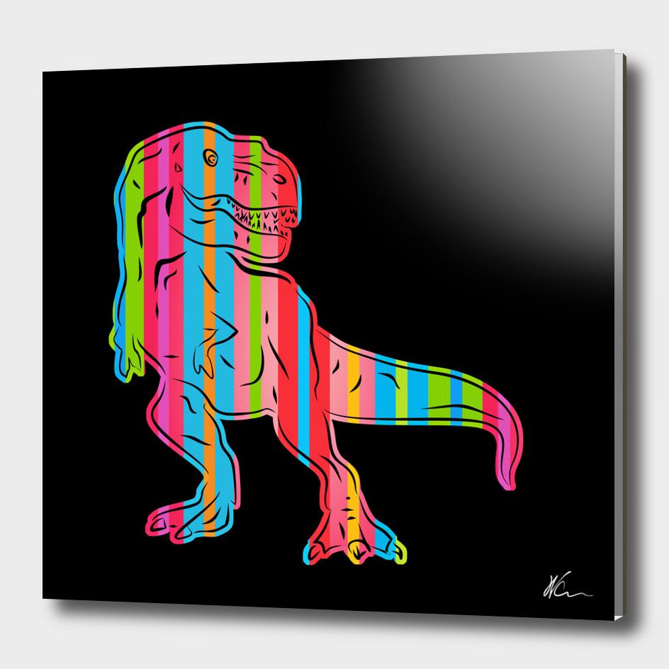 T-Rex | Dark | Pop Art