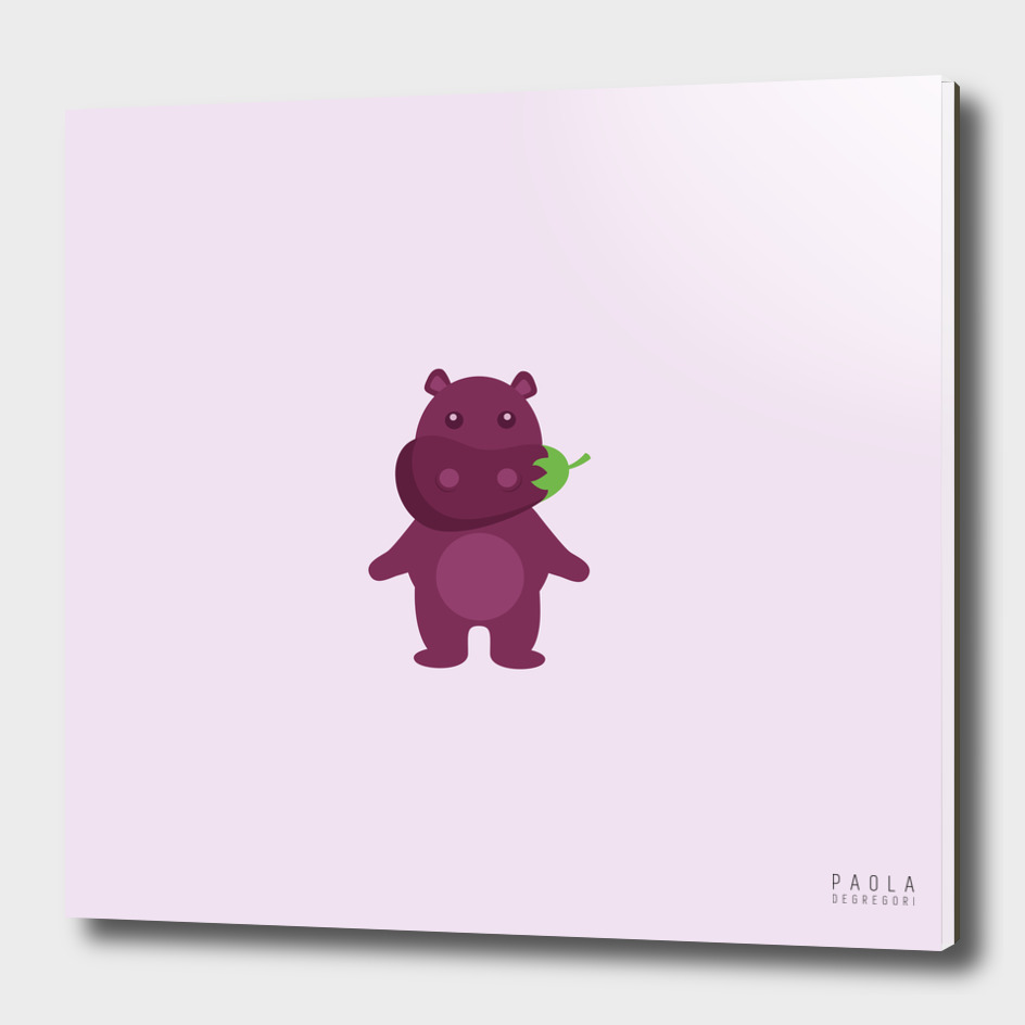 Hippopotaubergine