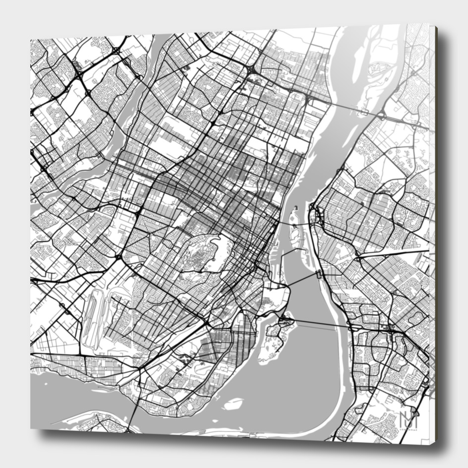 Montreal Traffic (white)