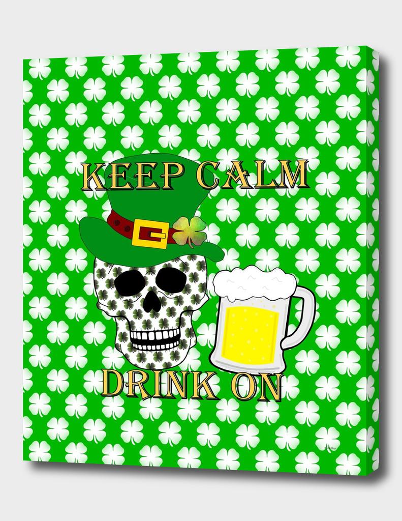Keep Calm Drink On