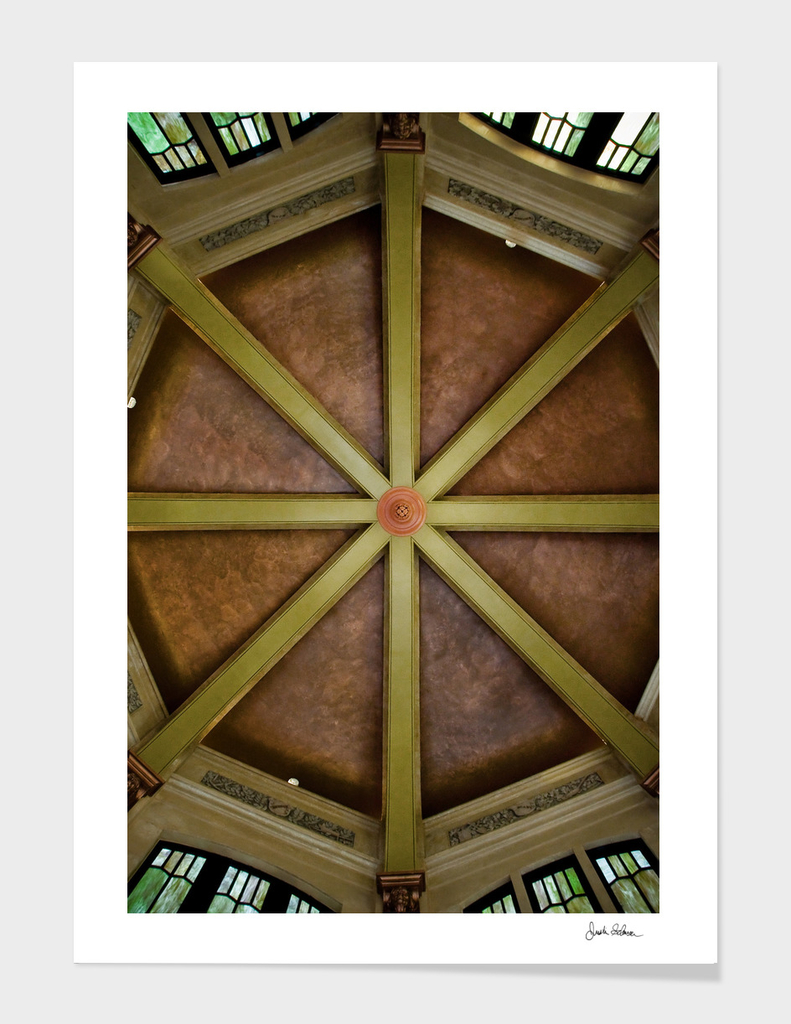 Abstract Dome Ceiling
