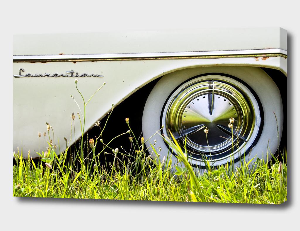 Details on a Laurentian Car