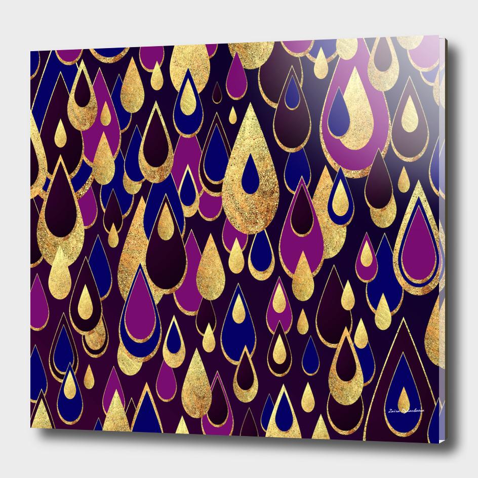 Purple Sapphire Rain