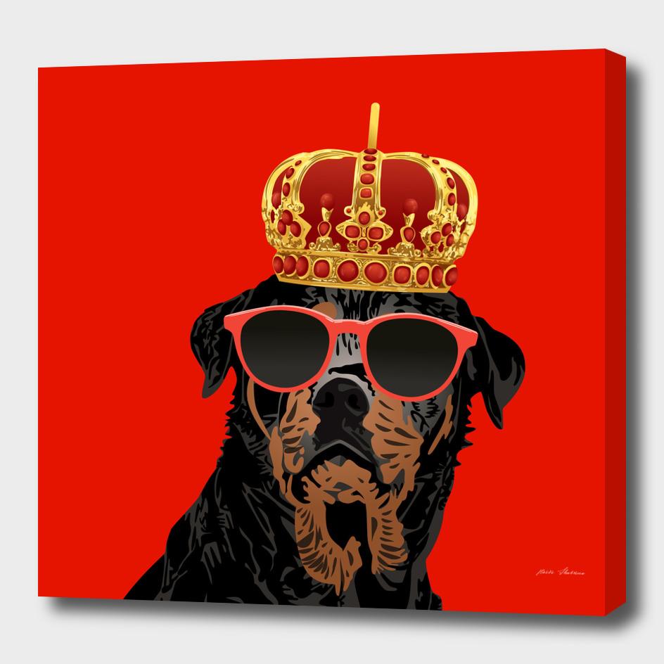 Thug Life King Rottweiler for Rottweiler Parents