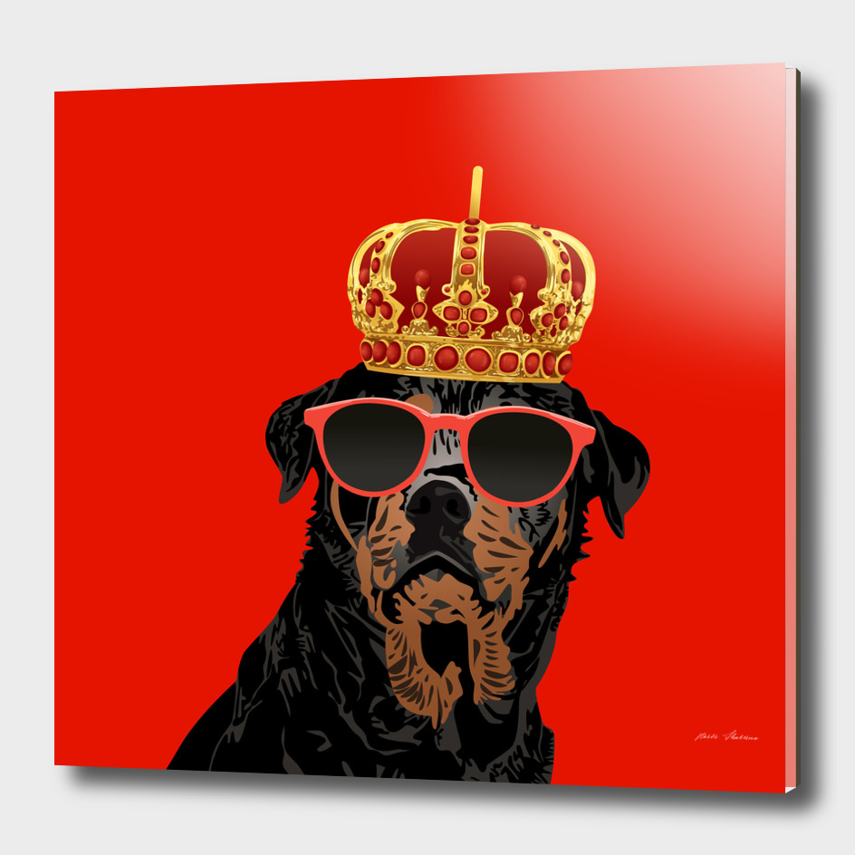 Thug Life King Rottweiler for Rottweiler Parents