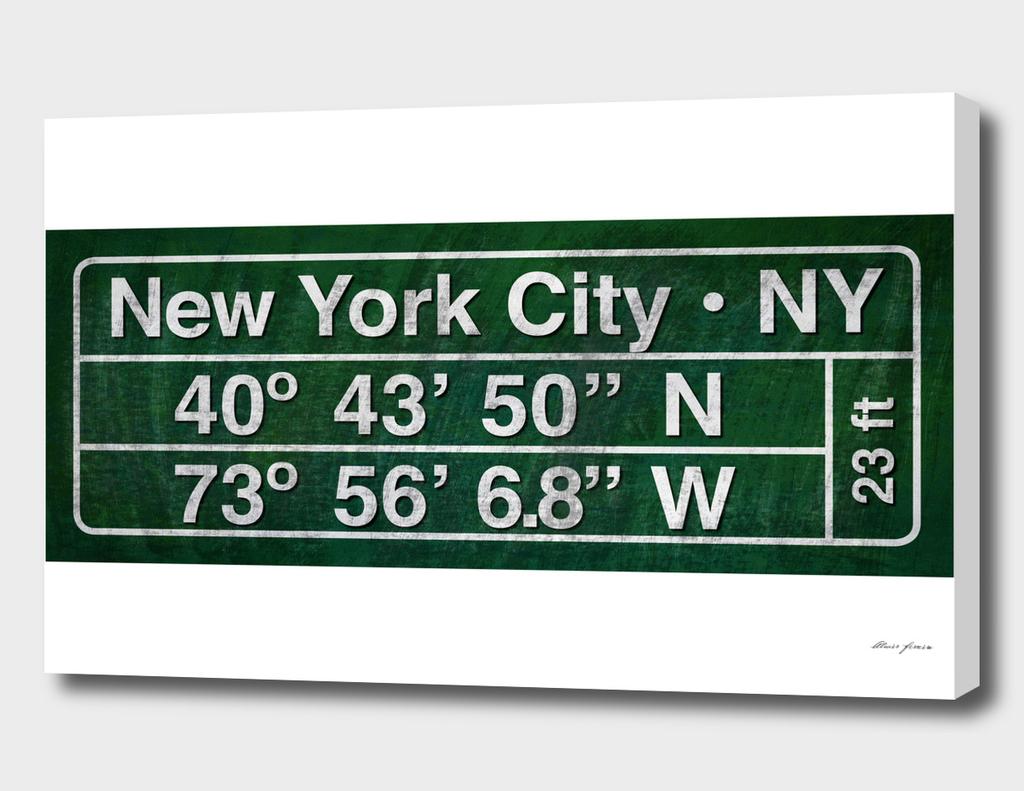 New York - Coordinates