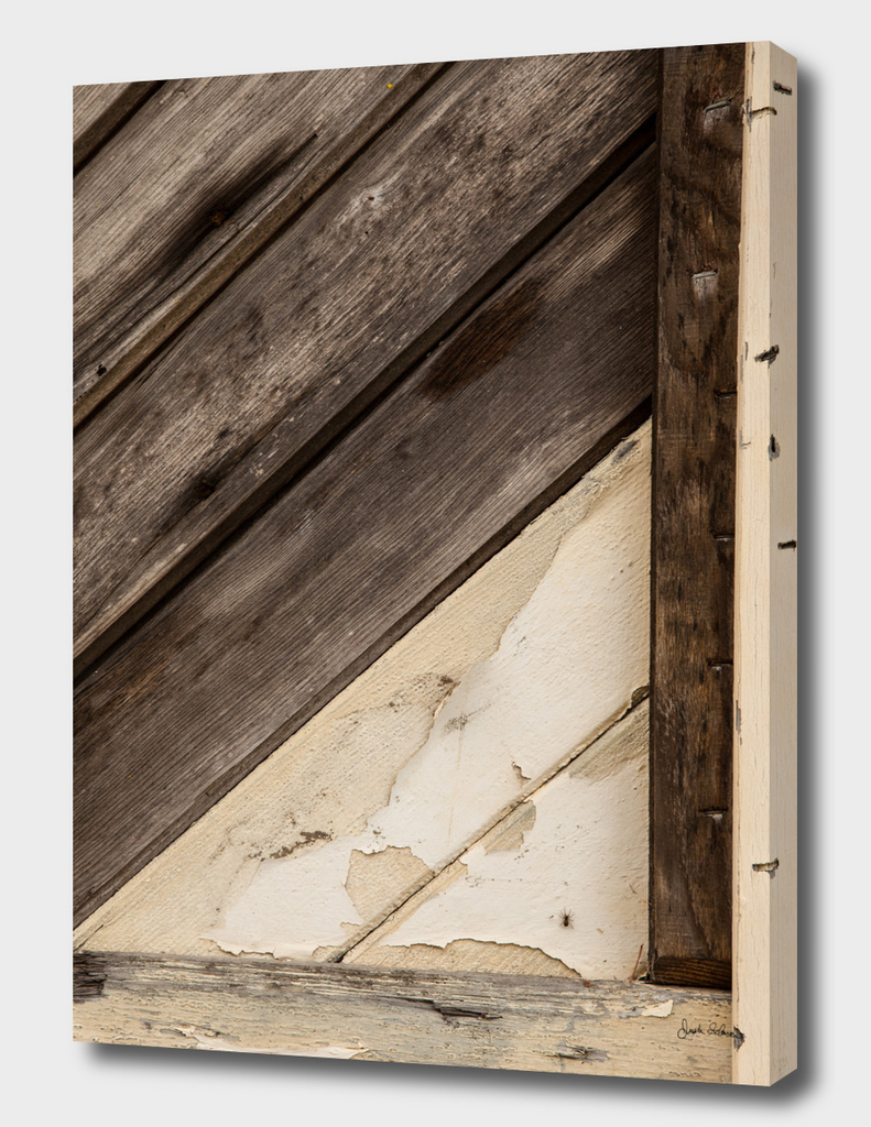 Wooden Frame Abstract
