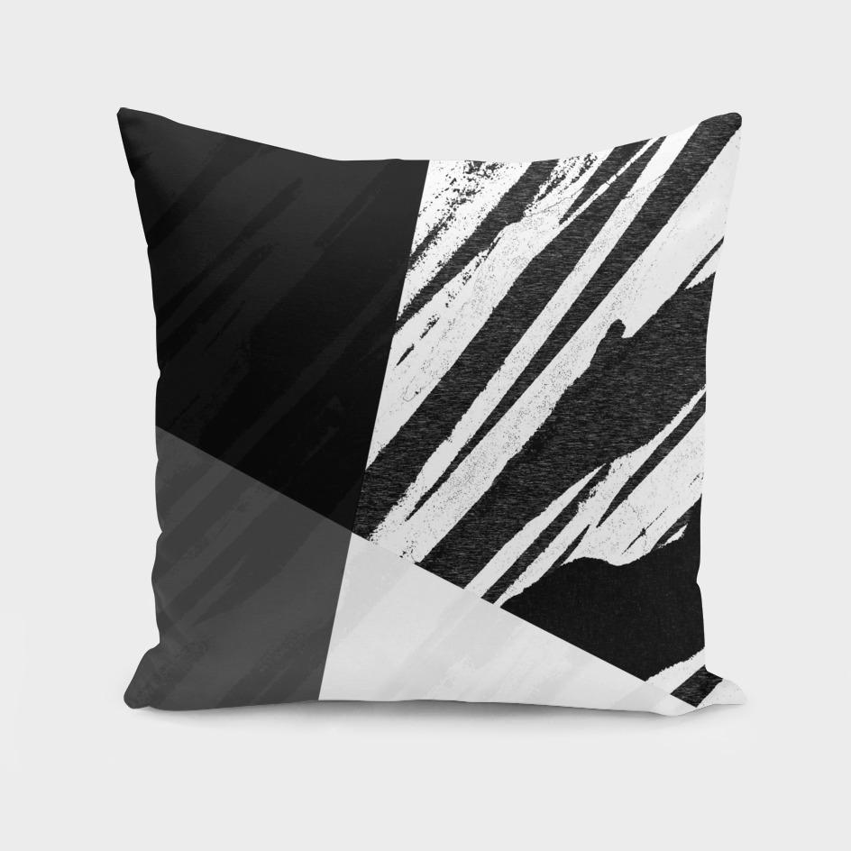 Contemporary Bold Zebra Black and White Design