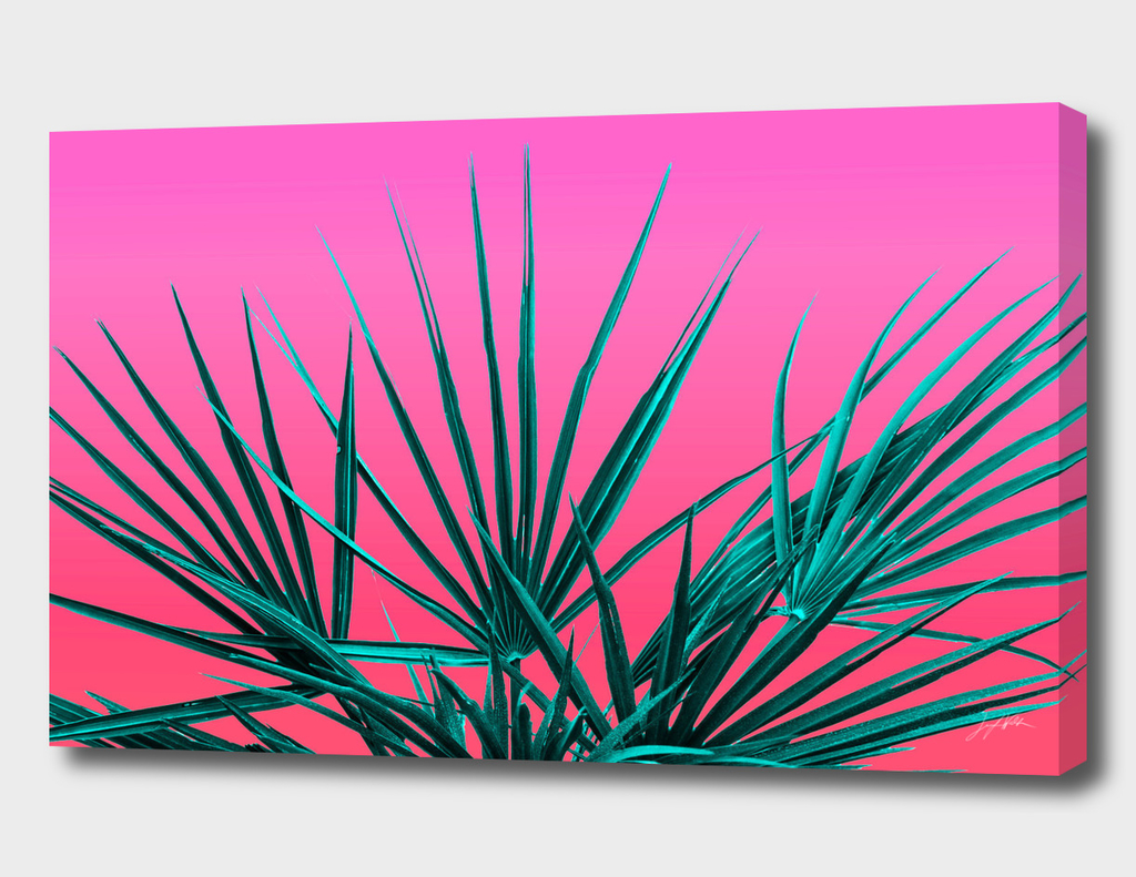 Pink Palm Life - Miami Vaporwave