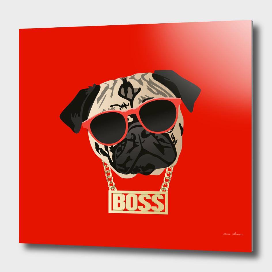 Pug Life - I am the Boss for Pug Parents