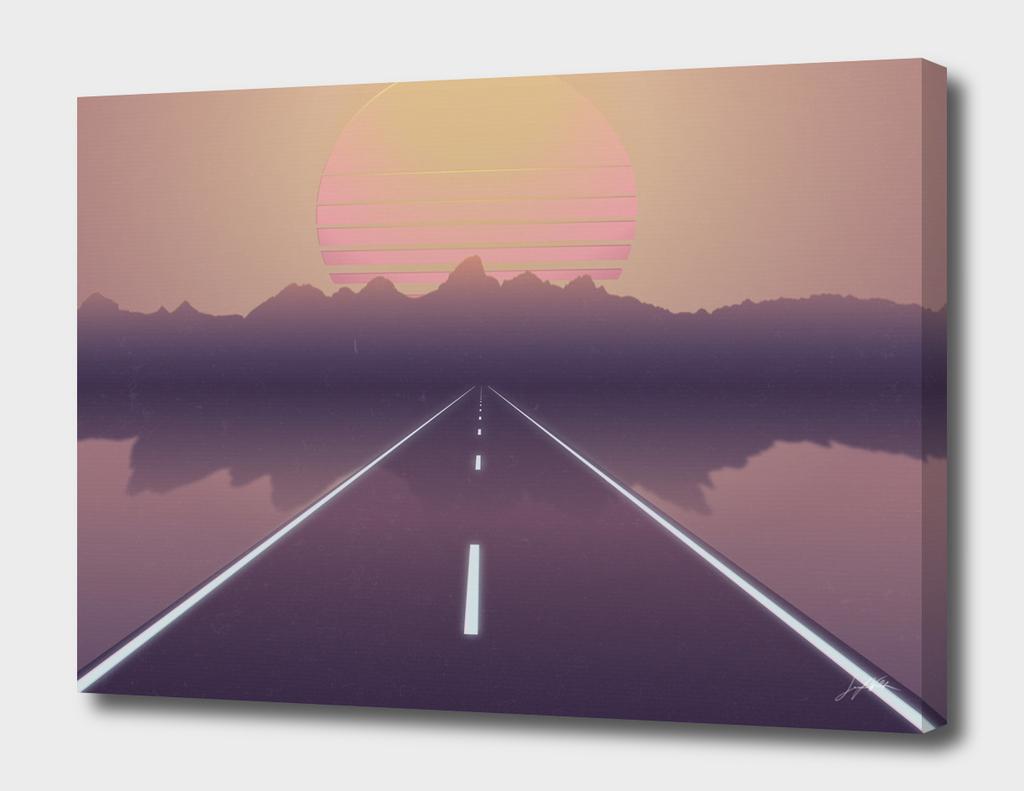 Outrun the Sun - Retrowave