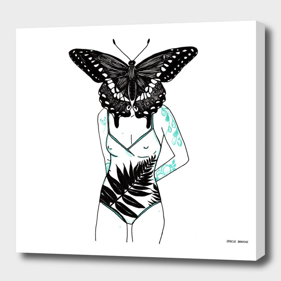 Femme Papillon 02