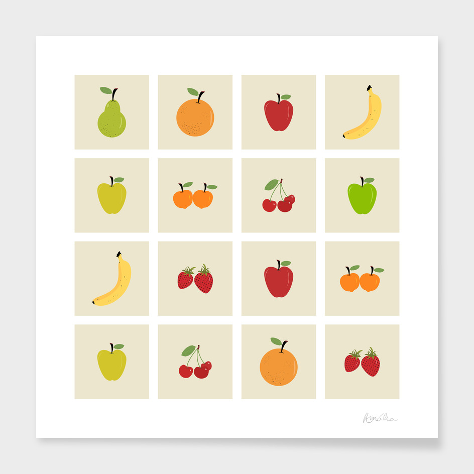 AFE Fruit Grid