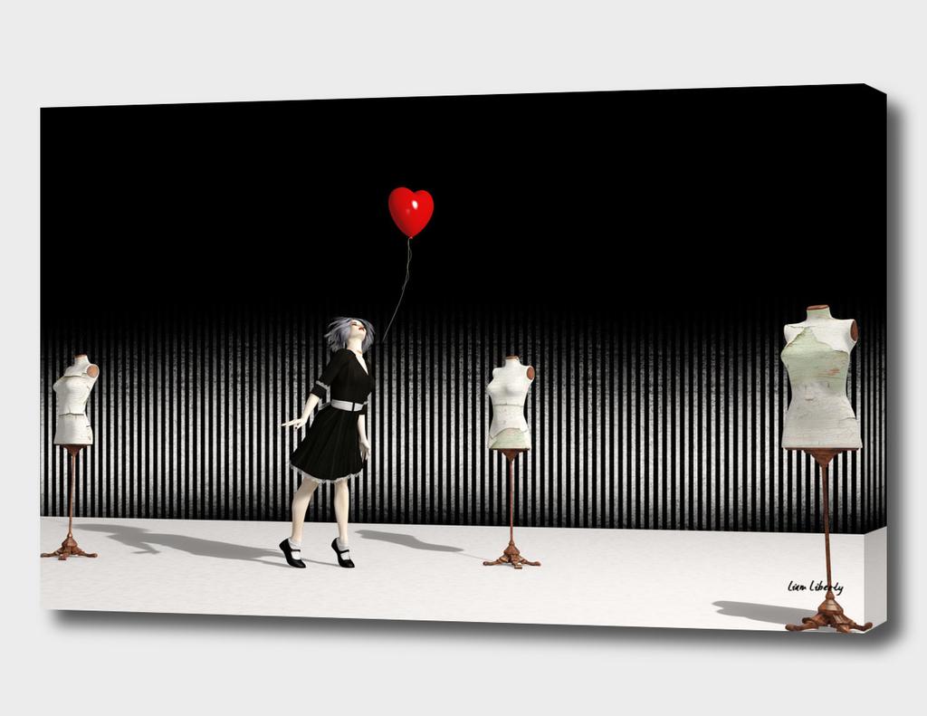 The Heart-Shaped Balloon