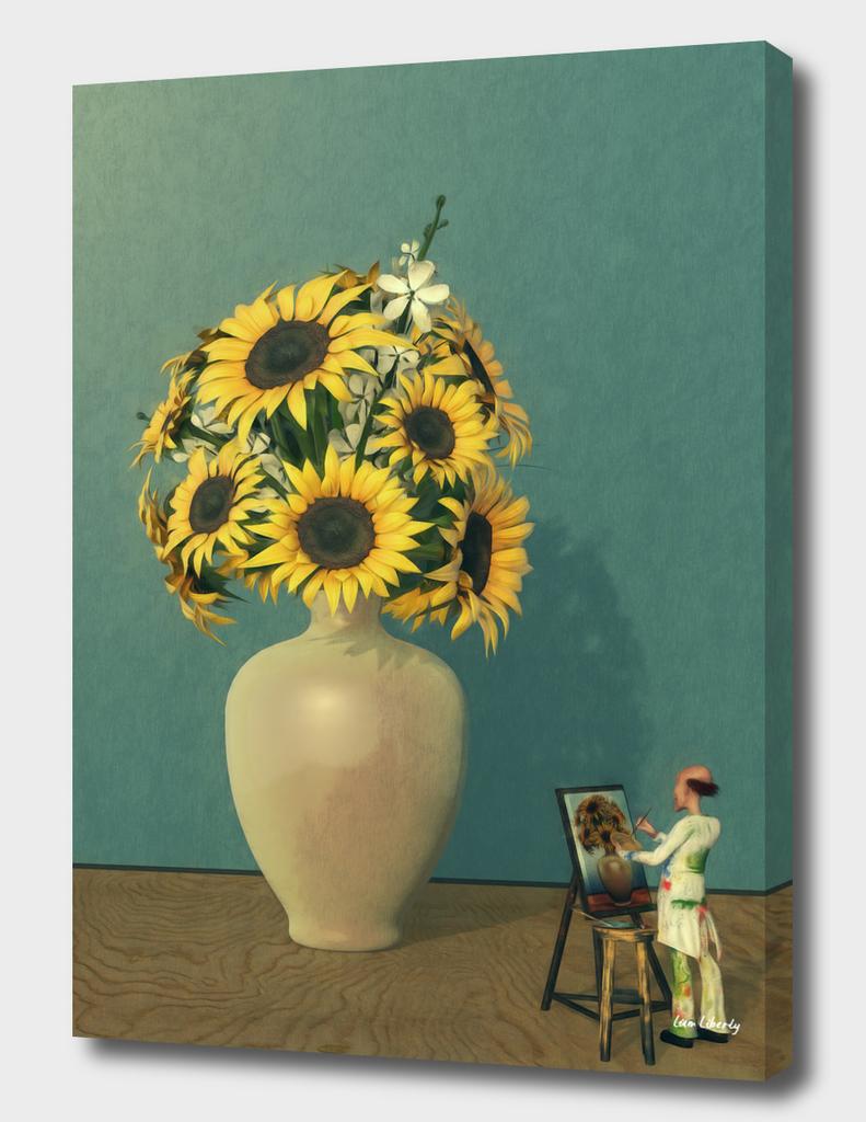 Painting Sunflowers