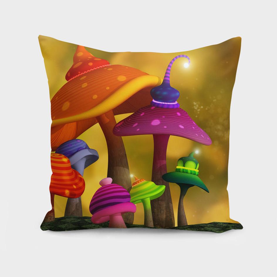 Whimsical Mushrooms