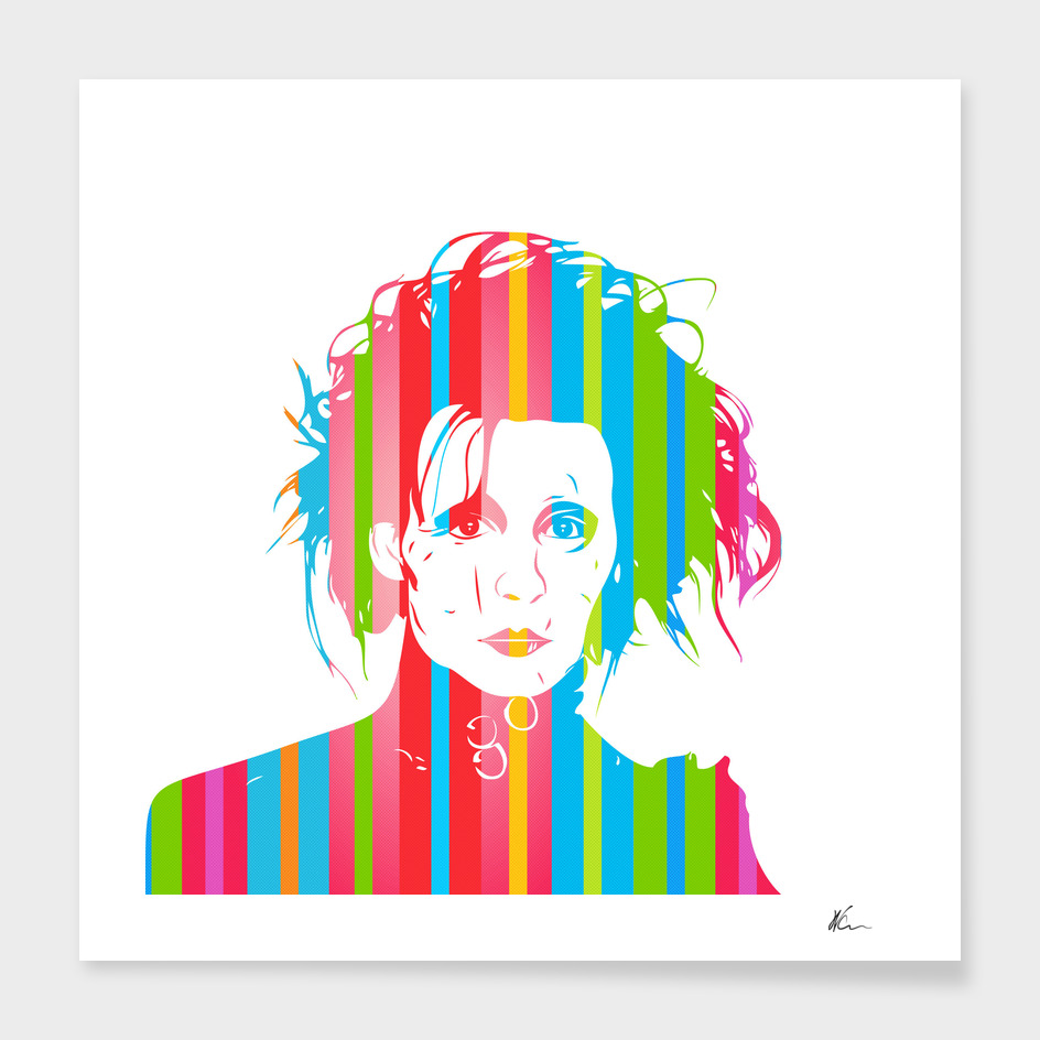 Edward Scissorhands | Pop Art
