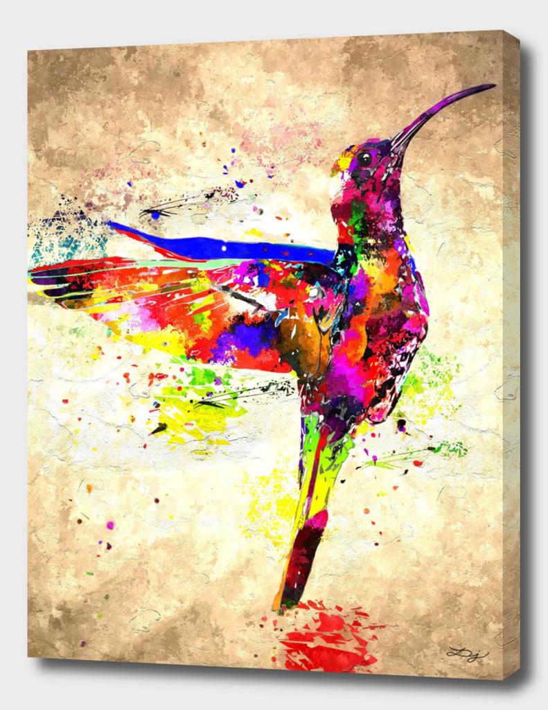 New World Bird Grunge