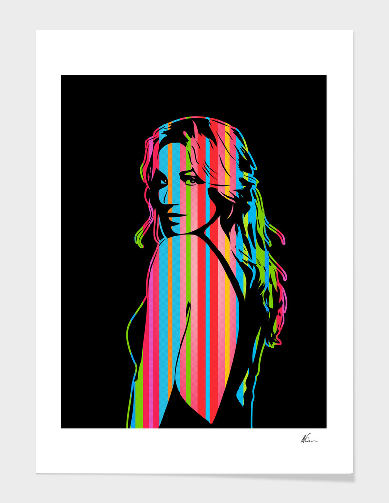 Britney Spears | Dark | Pop Art